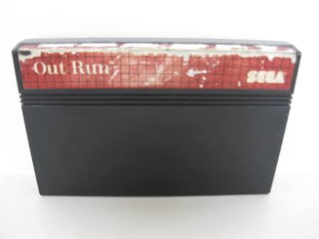 Out Run - Sega Master System Game
